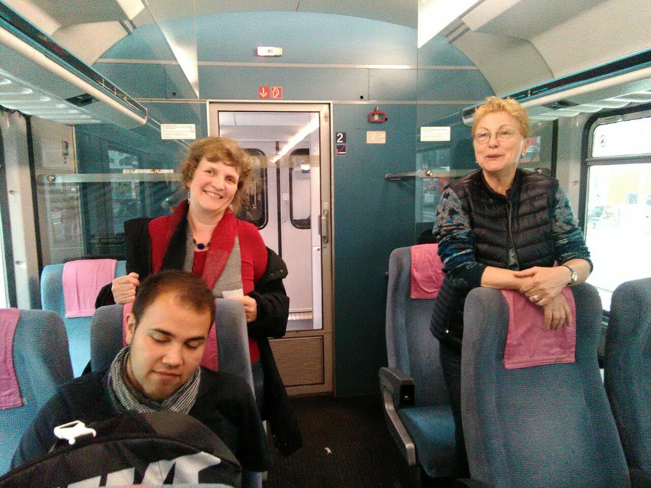 Die Anreise nach Fürth